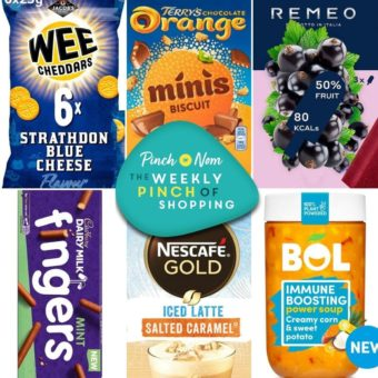 Your Slimming Essentials – The Weekly Pinch of Shopping 20.08 pinchofnom.com