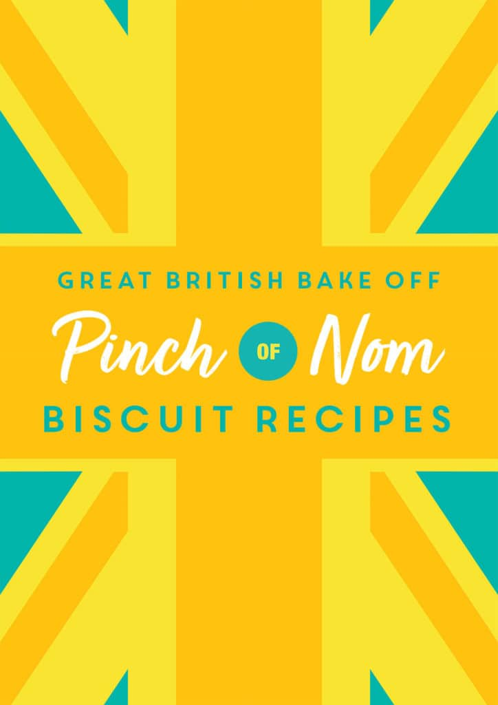 Great British Bake Off: Biscuit Recipes - Pinch of Nom Slimming Recipes